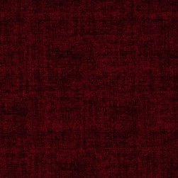 Linen Texture Deep Red Fabric