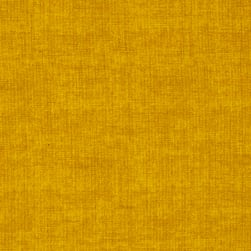 Linen Texture Yellow Fabric