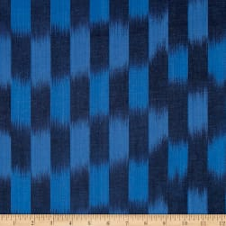 Andover Dream Weaves Ikat Patch Denim Fabric