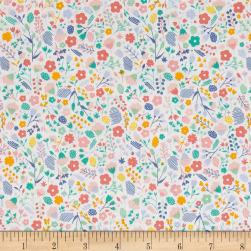 Andover Floral Splendor Florence Green Fabric