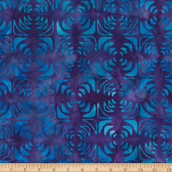 Kaufman Artisan Batiks Optical Illusion Geo Trellis Bermuda