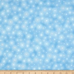 Kaufman Winter Grandeur Metallic Twinkle Frost Fabric