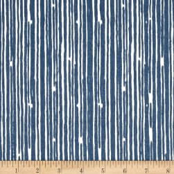 Premier Prints Scribble Premier Navy Fabric