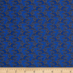 Patriotic 2017 Majestic Navy Fabric
