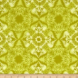 Kaufman Jasmine by Valori Wells Medallions Curry Fabric
