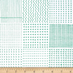 Kaufman Blueberry Park Geo Plaid Bluegrass Fabric