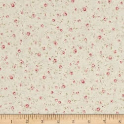 Kaufman Margeaux Spaced Flower Ivory