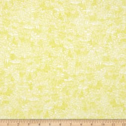 Kaufman Friedlander Lawn Collage Wasabi Fabric