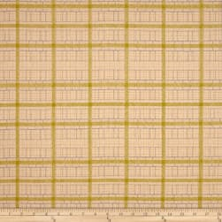 Kaufman Friedlander Box Stripe Peach Fabric