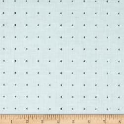 Kaufman Friedlander Dots Sky Fabric