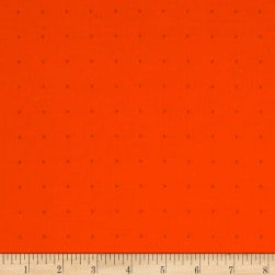 Kaufman Friedlander Dots Tangerine Fabric