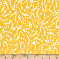 Kaufman Pond Branches Curry Fabric