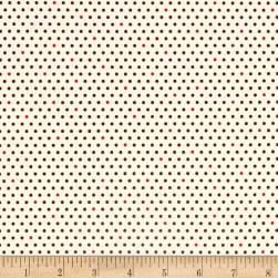 Kaufman Pond Dots Brick Fabric