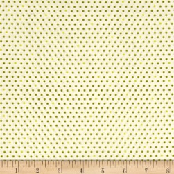 Kaufman Pond Dots Pickle Fabric
