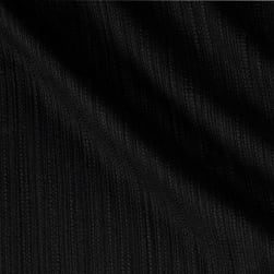 Kaufman Cotton Boucle Solid Black Fabric