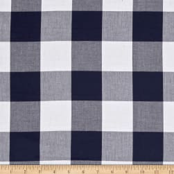 "Kaufman Carolina Gingham 2"" Navy"