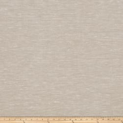 Fabricut Acreage Linen Blend Sheer Limestone Fabric