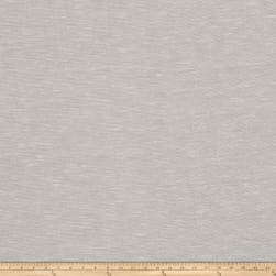 Fabricut Acreage Linen Blend Wide Sheer Silver Fabric
