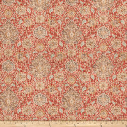 Fabricut Askia Velvet Persimmon Fabric