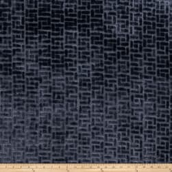 Fabricut Bari Velvet Midnight Fabric