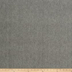Fabricut Berkshire Herringbone Velvet Grey Fabric