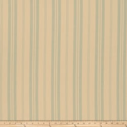 French General Biarritz Linen La Mer Fabric