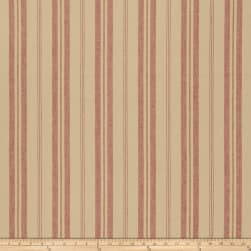 French General Biarritz Linen Rural Red Fabric