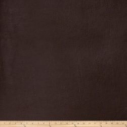Fabricut Bronze Faux Leather Chocolate Fabric
