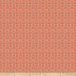 Charlotte Moss Capetown Linen Coral Fabric