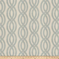 Fabricut Confucius Embroidered Mist Fabric