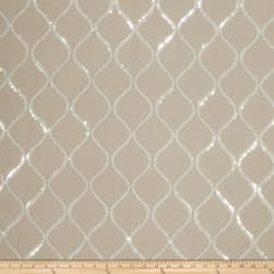 Fabricut Cubillas Shimmers Faux Silk Linen Silver Fabric