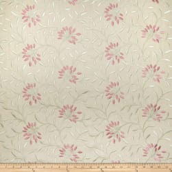 Fabricut Elmley Embroidered Linen Blend Berry