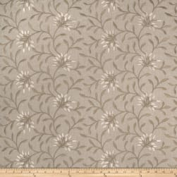 Fabricut Elmley Embroidered Linen Blend Linen Fabric