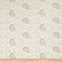 Fabricut Elmley Embroidered Linen Blend Sesame Fabric