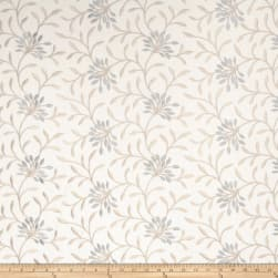 Fabricut Elmley Embroidered Linen Blend Wedgwood