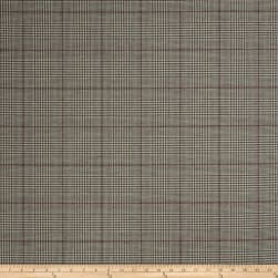 Fabricut Foxworth Glen Plaid Ebony Fabric