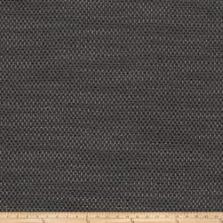 Fabricut Hardrock Basketweave Charcoal Fabric