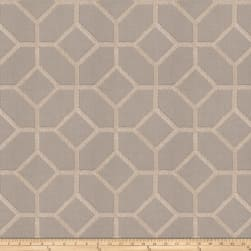 Fabricut Infatuation Embroidered Linen Blend Stone Fabric