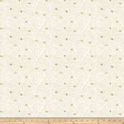 Fabricut Norroway Embroidered Sheer Ivory Fabric