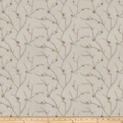 Fabricut Norroway Embroidered Sheer Taupe Fabric