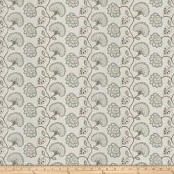 Fabricut Prudence Floral Robins Egg Fabric