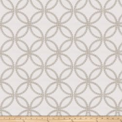 Fabricut Reconciliation Embroidered Twill Grey Fabric