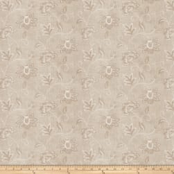 Charlotte Moss Ripoli Embroidered Linen Canvas Fabric
