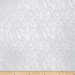 Fabricut Roland Sheer Branches White Fabric