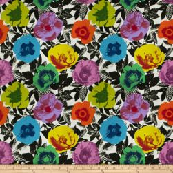 Fabricut Sprouting Tropical Canvas Fabric