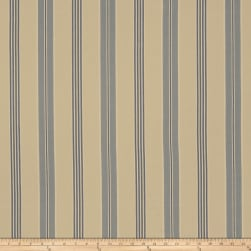 French General St Remy Linen Bleu Fabric