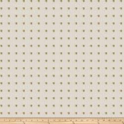 Fabricut Studded Squares Linen Bling Fabric