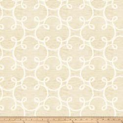 Fabricut Sugarplum Gold Cream Fabric