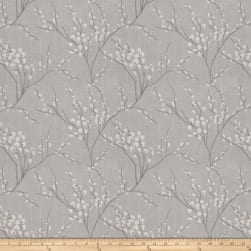 Fabricut Zaria Embroidered Faux Linen Shadow Fabric