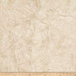 Trend 01340 Crinkle Sheer Voile Vanilla Fabric
